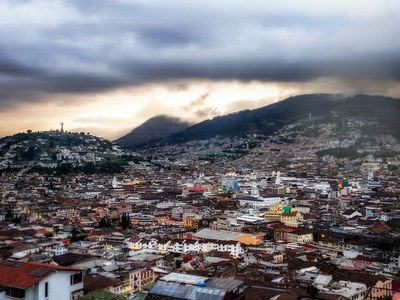 """Old Town of Quito"" by Simon Matzinger is licensed under CCBY2.0"